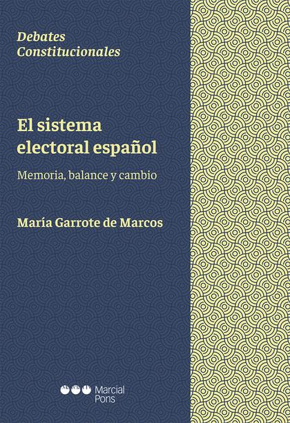 SISTEMA ELECTORAL ESPAÑOL.