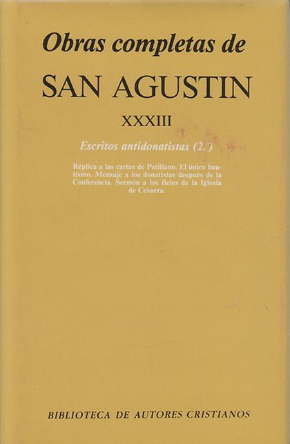 OBRAS C. SAN AGUSTIN XXXIII
