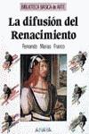 La difusión del Renacimiento