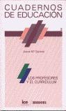 CUADERNOS EDUCACION 2 LOS PROFESORES Y EL CURRICULUM