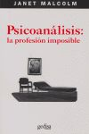 PSICOANÁLISIS: LA PROFESIÓN IMPOSIBLE