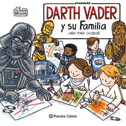 DARTH VADER Y SU FAMILIA.