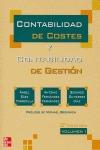 CONTABILIDAD DE COSTES Y CONTABILIDAD DE GESTIÓN VOL.1.