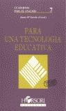 TECNOLOGIA EDUCATIVA 7