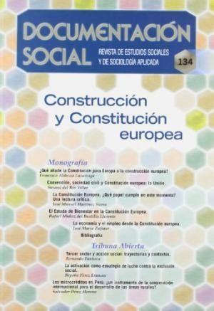 CONSTRUCCIÓN Y CONSTITUCIÓN EUROPEA