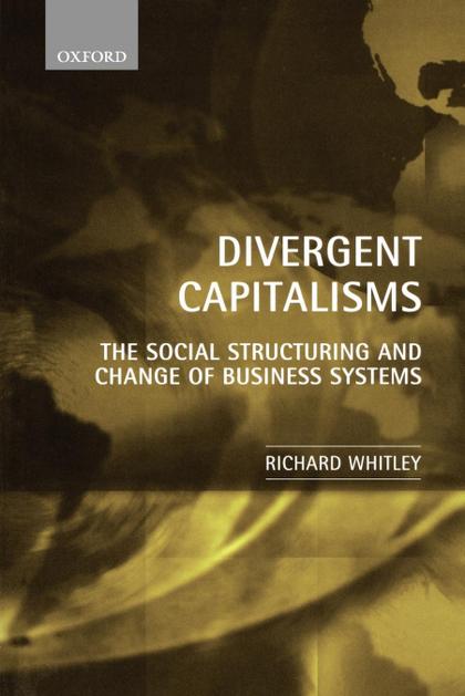 DIVERGENT CAPITALISMS