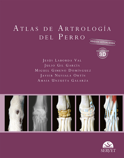 ATLAS DE ARTROLOGÍA DEL PERRO. EDICIÓN ACTUALIZADA.