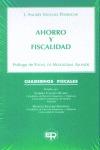 AHORRO Y FISCALIDAD