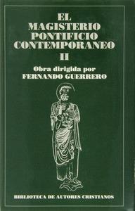 MAGISTERIO PONTIFICIO CONTEMPORANEO VOL 2. II