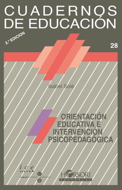 ORIENTACION EDUCATIVA INTERVENCION PSICOPEDAGOGICA