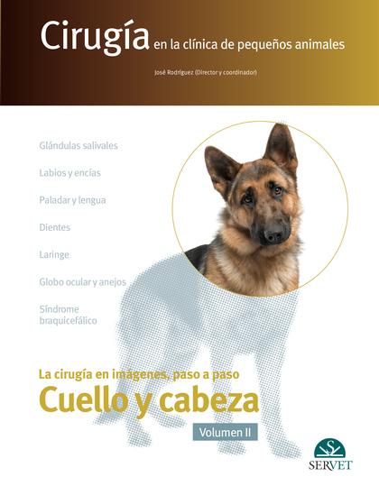 CIRUGÍA EN LA CLÍNICA DE PEQUEÑOS ANIMALES. VOLUMEN II. CUELLO Y CABEZA