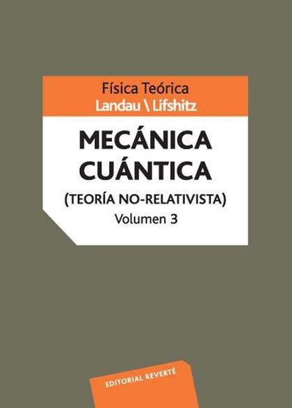 MECANICA CUANTICA NO RELATIVISTA