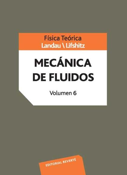 VOLUMEN 6. MECÁNICA DE FLUIDOS.