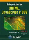 GUÍA PRÁCTICA XHTML, JAVASCRIPT Y CSS