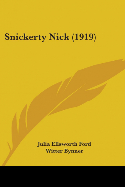 SNICKERTY NICK (1919)