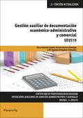 GESTIÓN AUXILIAR DE DOCUMENTACIÓN ECONÓMICO-ADMINISTRATIVA Y COMERCIAL.