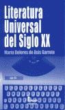 LITERATURA UNIVERSAL DEL SIGLO XX