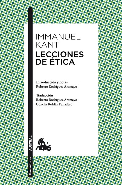 LECCIONES DE ÉTICA.