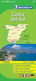 MAPA ZOOM ESPAÑA-COSTA DEL SOL(124)-