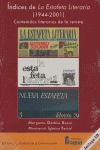 ÍNDICES DE ´LA ESTAFETA LITERARIA´ (1944-2001): CONTENIDOS LITERARIOS DE LA REVISTA