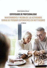 MANTENIMIENTO Y MEJORA DE LAS ACTIVIDADES DIARIAS DE PERSONA
