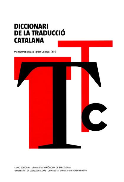 DICCIONARI DE LA TRADUCCIÓ CATALANA.