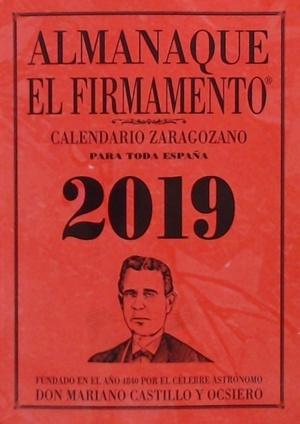 ALMANAQUE EL FIRMAMENTO 2019 ZARAGOZANO.