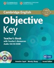 OBJECTIVE KEY TEACHER´S BOOK WITH TEACHER´S RESOURCES AUDIO CD/CD-ROM 2ND EDITIO