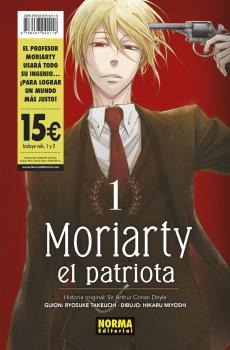 PACK INICIACION MORIARTY EL PATRIOTA 01+02.