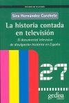 LA HISTORIA CONTADA POR TELEVISION