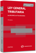 LEY GENERAL TRIBUTARIA : LEY 58-2003, DE 17 DE DICIEMBRE