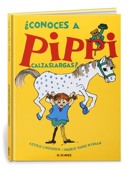 ¿CONOCES A PIPPI CALZASLARGAS?