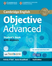 (15) OBJECTIVE ADVANCED STUDENT´S BOOK WITH ANSWERS + CD WITH TESTBANK 4TH ED