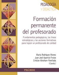 FORMACIÓN PERMANENTE DEL PROFESORADO                                            FUNDAMENTOS PED
