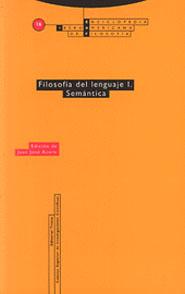 FILOSOFIA LENGUAJE I SEMANTICA