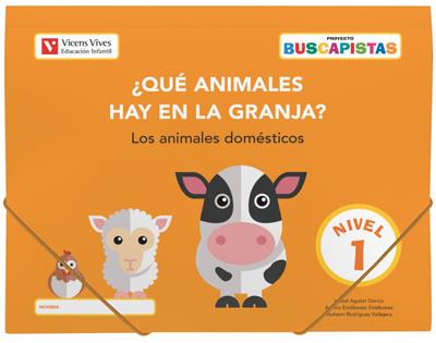 BUSCAPISTAS N-1¿QUE ANIMALES HAY EN LA GRANJA?(P3).