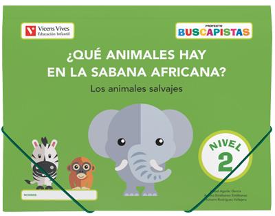 BUSCAPISTAS N-2¿QUE ANIMALES HAY EN LA SABANA (P4).