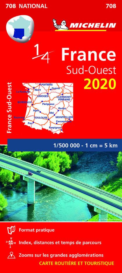 MAPA NATIONAL FRANCE SUD-OUEST 2020