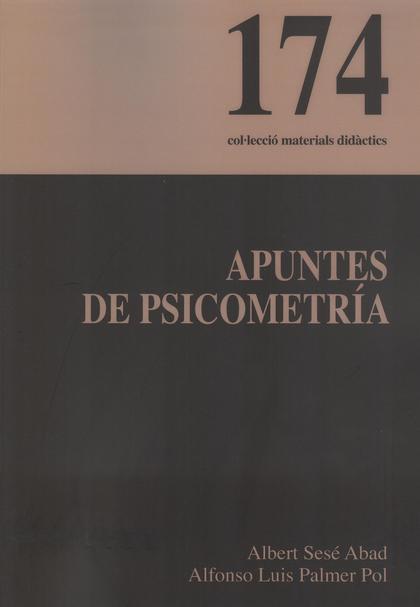 APUNTES DE PSICOMETRÍA