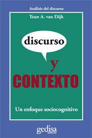 DISCURSO Y CONTEXTO : UN ENFOQUE SOCIOCOGNITIVO