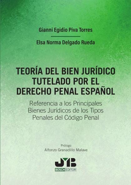 TEORIA DEL BIEN JURIDICO TUTELADO POR EL DERECHO PENAL ESPAÑOL.