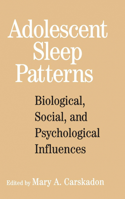 ADOLESCENT SLEEP PATTERNS