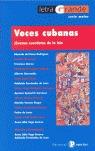 VOCES CUBANAS: JÓVENES CUENTISTAS DE LA ISLA