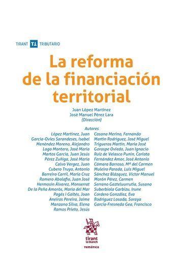 LA REFORMA DE LA FINANCIACIÓN TERRITORIAL.