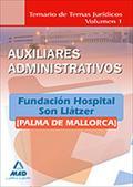 AUXILIARES ADMINISTRATIVOS DE LA FUNDACIÓN HOSPITAL SON LLÀTZER (PALMA DE MALLOR