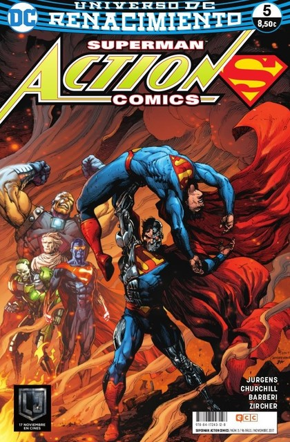 SUPERMAN: ACTION COMICS NÚM. 05 (RENACIMIENTO).