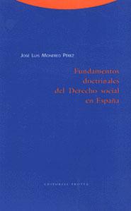 FUNDAMENTOS DOCTRINALES DERECHO SOCIAL