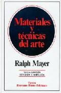 MATERIALES Y TÉCNICAS DEL ARTE