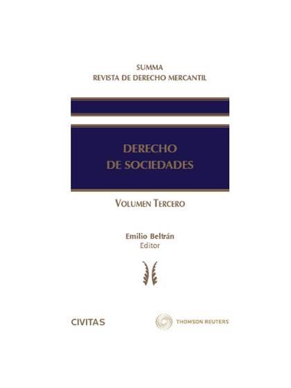 SUMMA REVISTA DE DERECHO MERCANTIL. DERECHO DE SOCIEDADES (VOL. III).