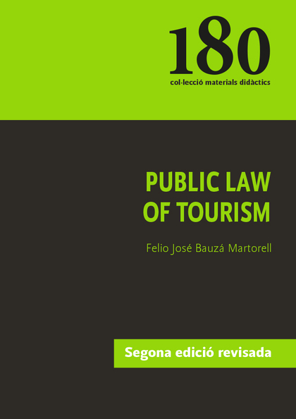 PUBLIC LAW OF TOURISM.